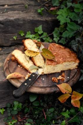 Рецепт Яблочно-грушевая шарлотка Инес