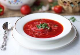 Рецепт борщ вегетарианский по-красносельски)