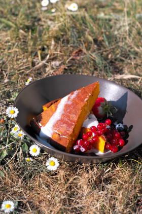 Рецепт Морковный пирог Армана