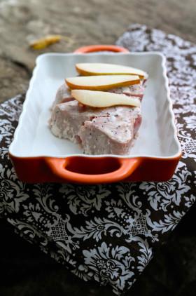 Рецепт Стейки из тунца с грушами