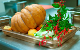 Рецепт Тыквенный суп с яблоками от Арналя