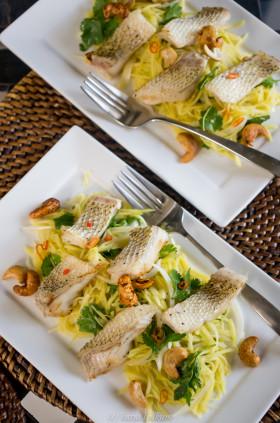Рецепт Салат с зеленым манго