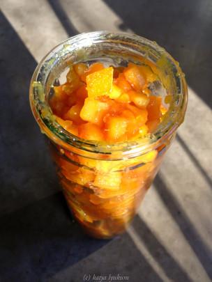апельсиновые влажные