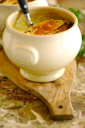Рецепт Суп с сыром Бри