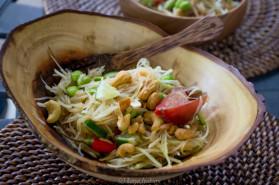 Рецепт Салат из зеленой папайи
